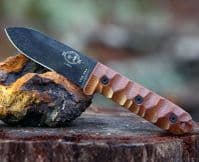 ESEE Camp Lore Patrick Rollins  PR4 Bushcraft Knife